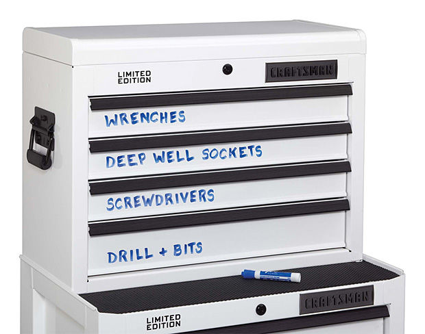 Writable Workshop Cabinets