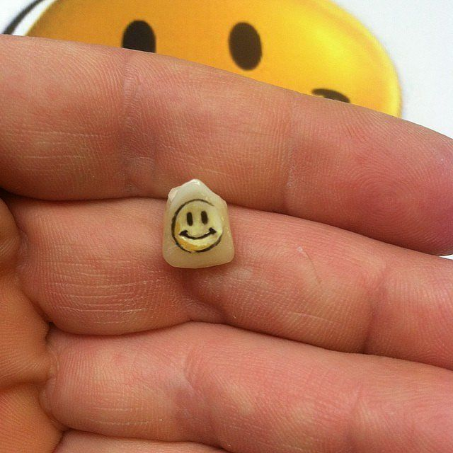 Miniature Tooth Tattoos
