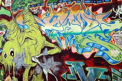 the trend of graffiti - photo #6