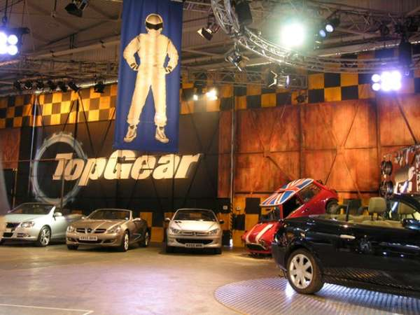 Top Gear Exhibit