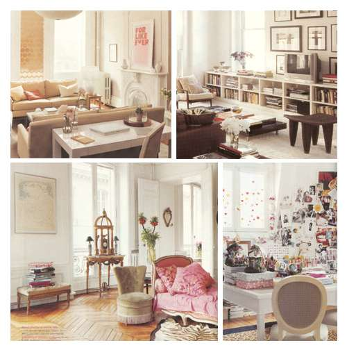 Interior Design Ideas For 2009: Gold, Vintage, Accessories