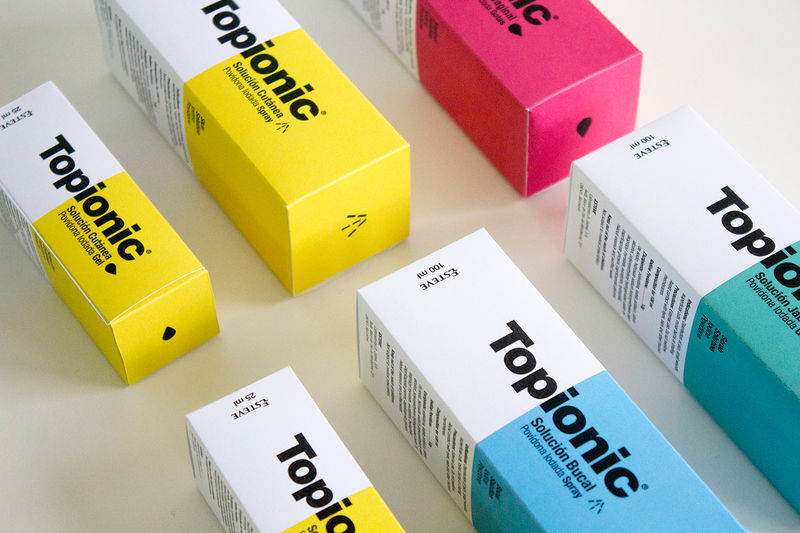 Elemental Medicine Packaging Topionic