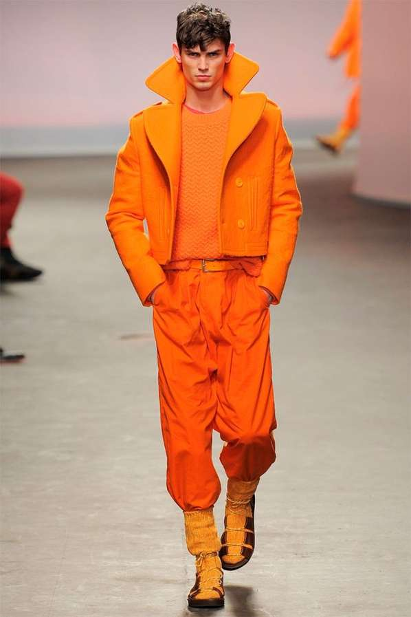 Citrus-Hued Explorer Runways