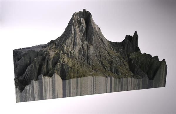 3D-Printed Topographic Maps