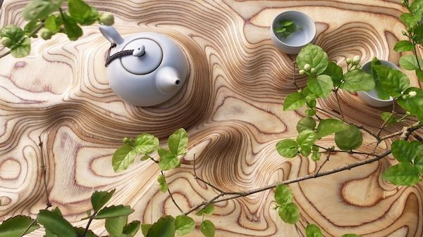 Topographic Tea Trays