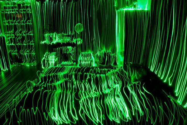 Topographical Light Paintings by Janne Parviainen