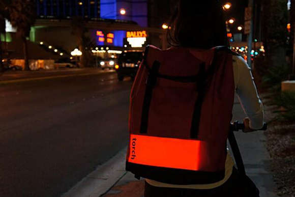 Illuminated Safety Knapsacks