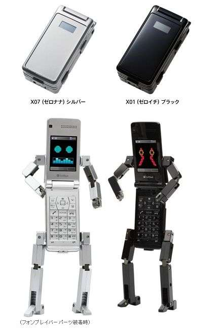 Robot Cellphone