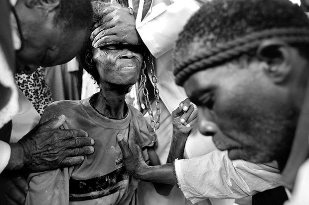 Zionist Exorcism Photos