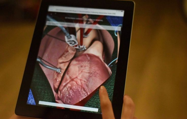 Augmented Reality Surgery Training