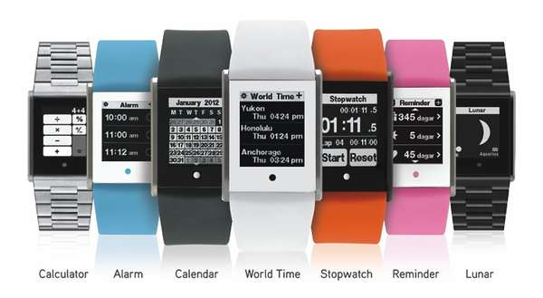 Touch Screen Timepieces