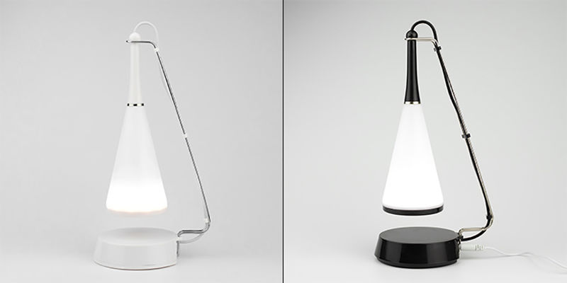 Touch-Activated Lamp Speakers