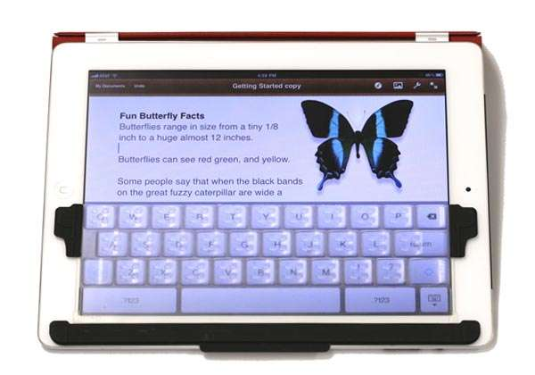 TouchFire Top-Screen Keyboard