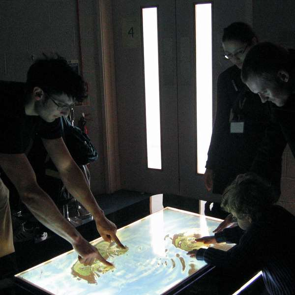 High-Tech Touchscreen Tables