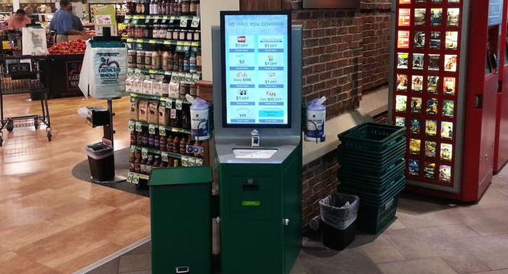 Sanitizing Touchscreen Stations
