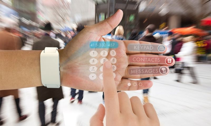 Hand Projection Smartphones