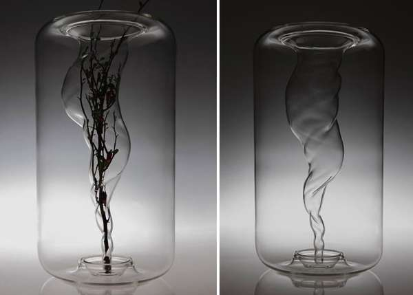 Water Cyclone Vases