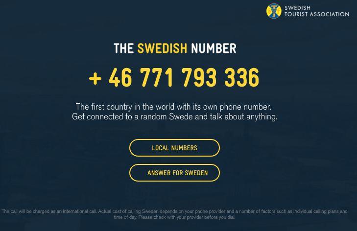Scandinavian Tourism Hotlines