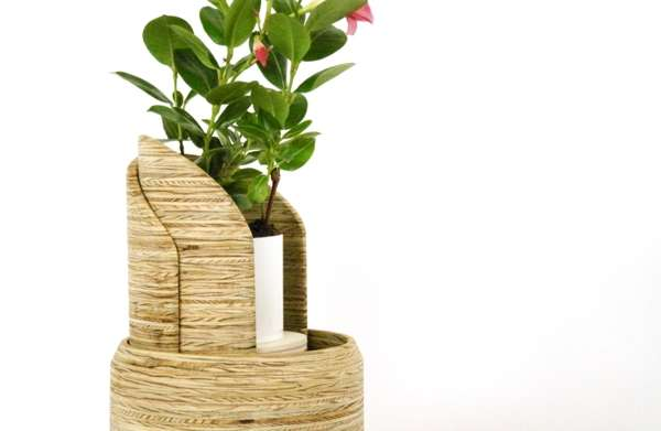 Playful Interactive Planters