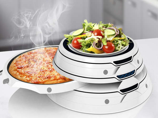 Pyramidal Meal Heater