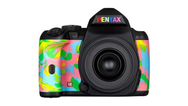 TOWER RECORDS x PENTAX RAINBOW K-r