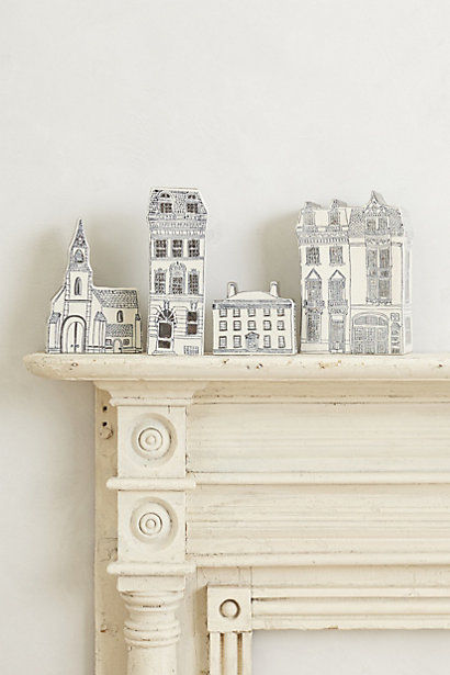 Architectural Skyline Decor