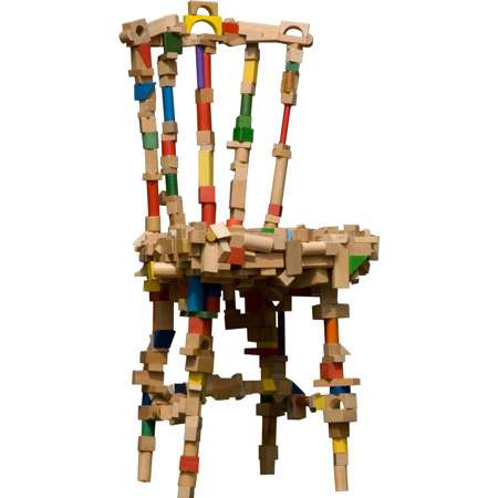 Chairs From Toy Blocks