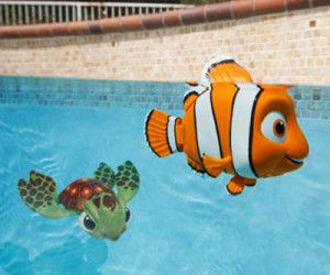 Cinematic Fish Pool Toys