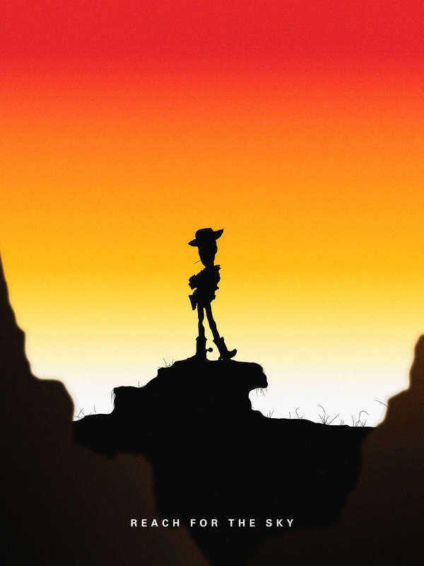 Silhouetted Cartoon Illustrations