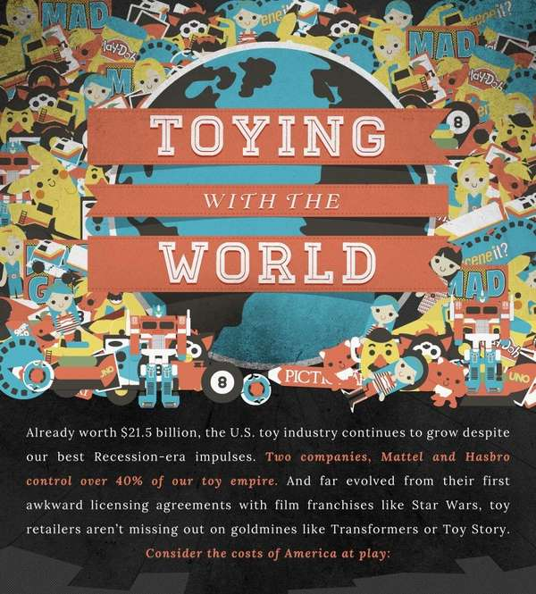 Toying with the world infographic