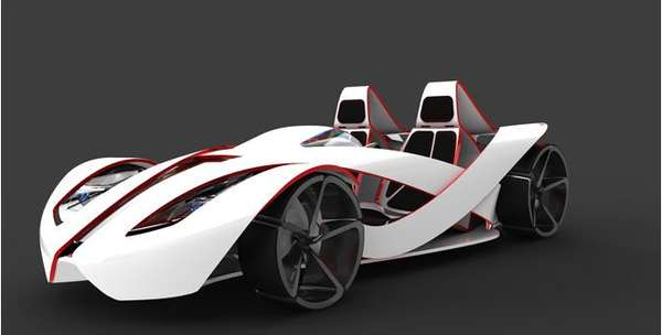 Recyclable Racecars