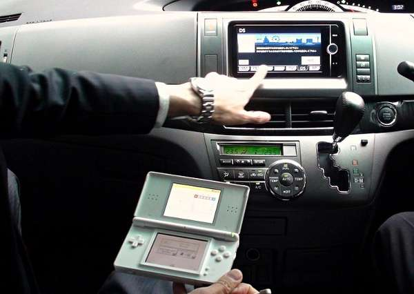 toyota nintendo ds navigation system