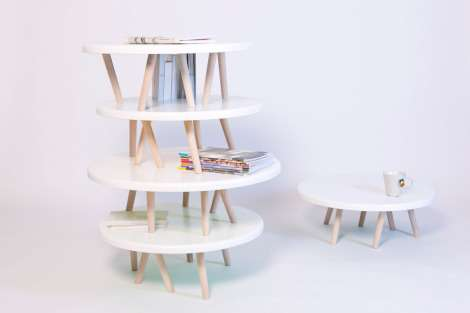 Delightful Stackable Side Tables