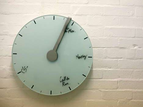 Self-Erasing Clocks