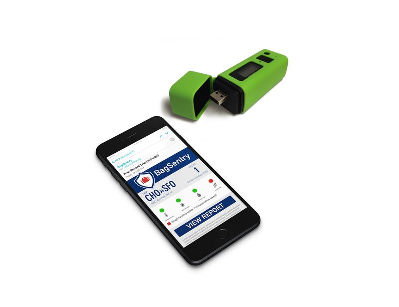Smart Sensor Luggage Trackers