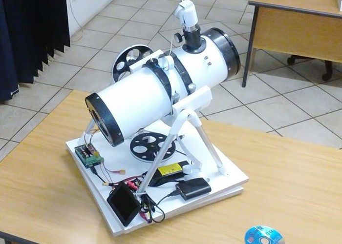 Optical Open Source Telescopes Tracking Telescope