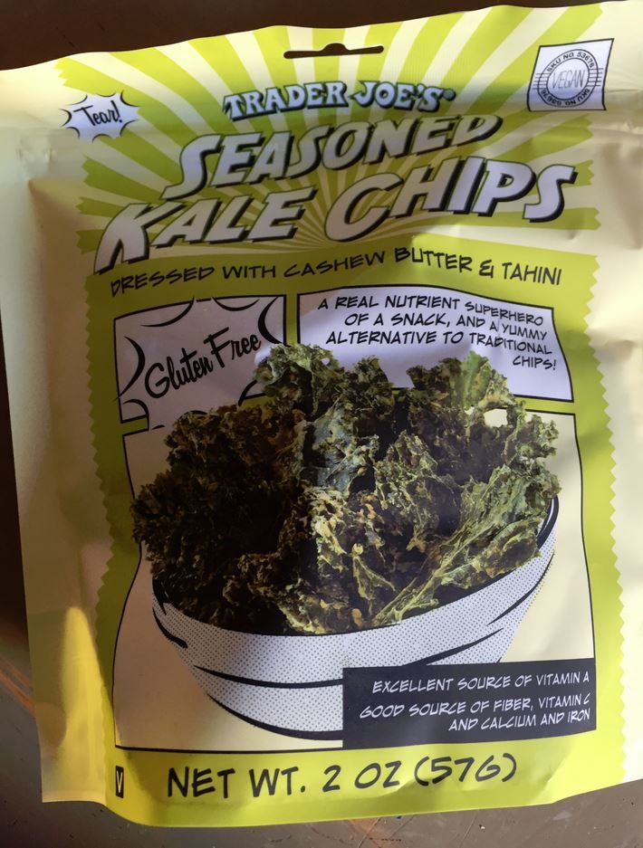 Convenient Seasoned Kale Chips