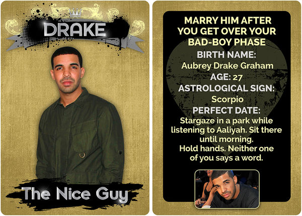Rapper Boyfriend Trading Cards