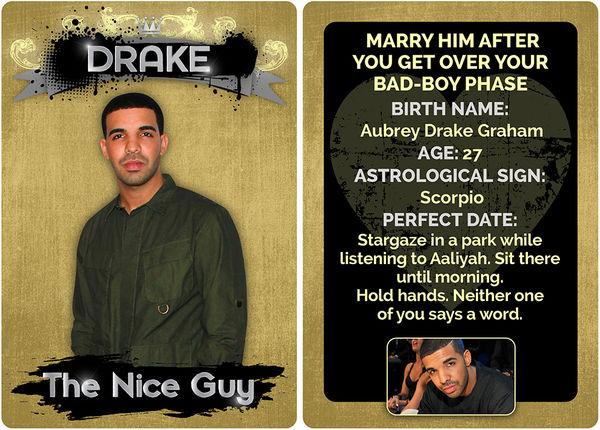 Rapper Boyfriend Trading Cards