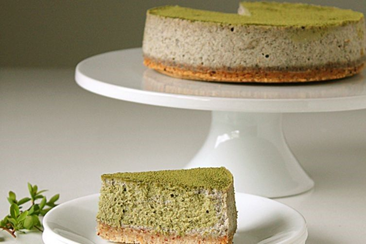Black Sesame Cheesecakes