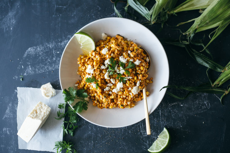 Spicy Corn Salads
