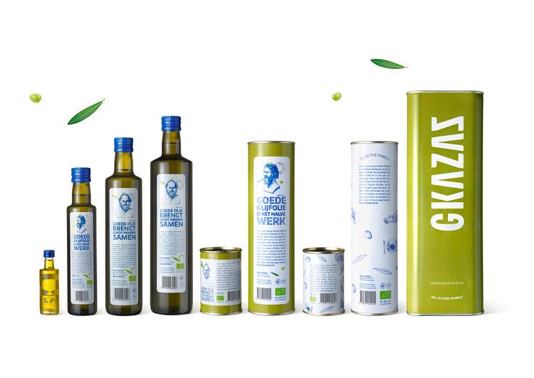 Rustic Olive Oil Branding