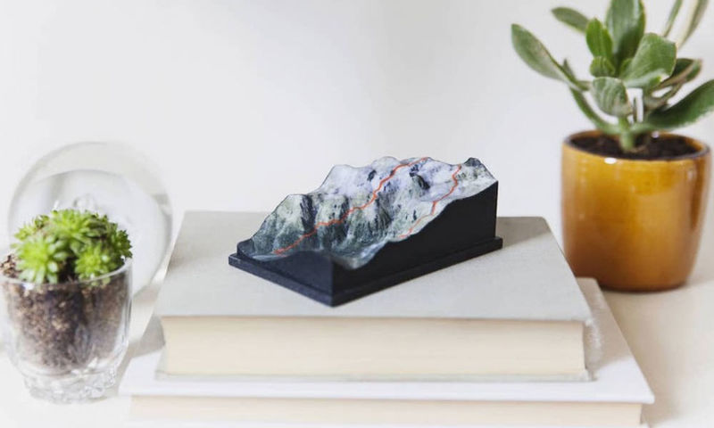 3D Topographical Sculptures
