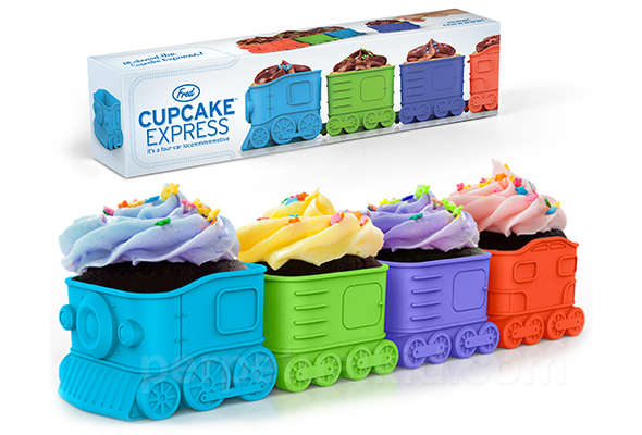 Train-Inspired Cupcake Trays