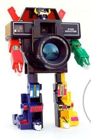 DIY Transformer Camera