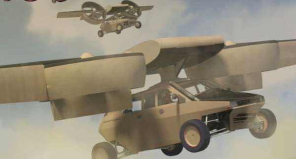 Hovering Attack Humvees
