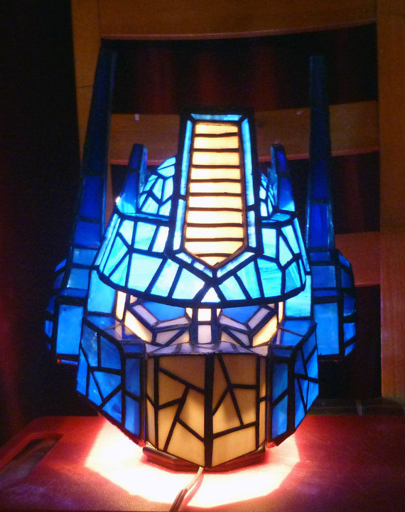 Disguised Robot Lamps