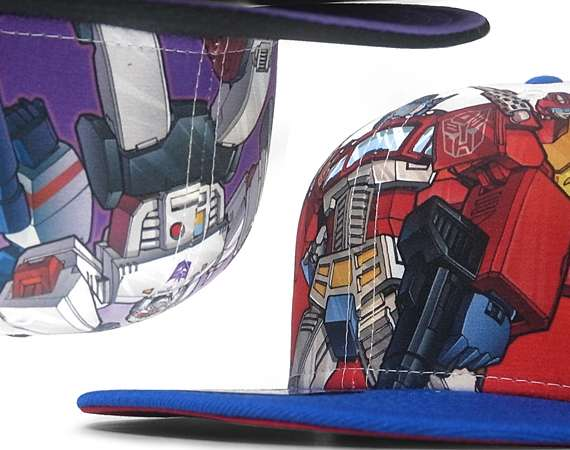 Transformers x New Era 'All Over Series' Caps