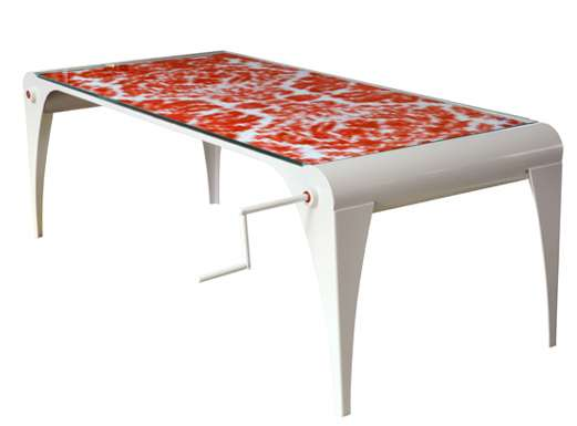 Furniture with Transforming Fabric