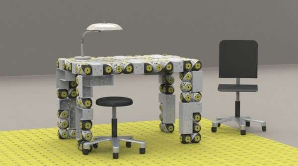 Futuristic Furniture Robots